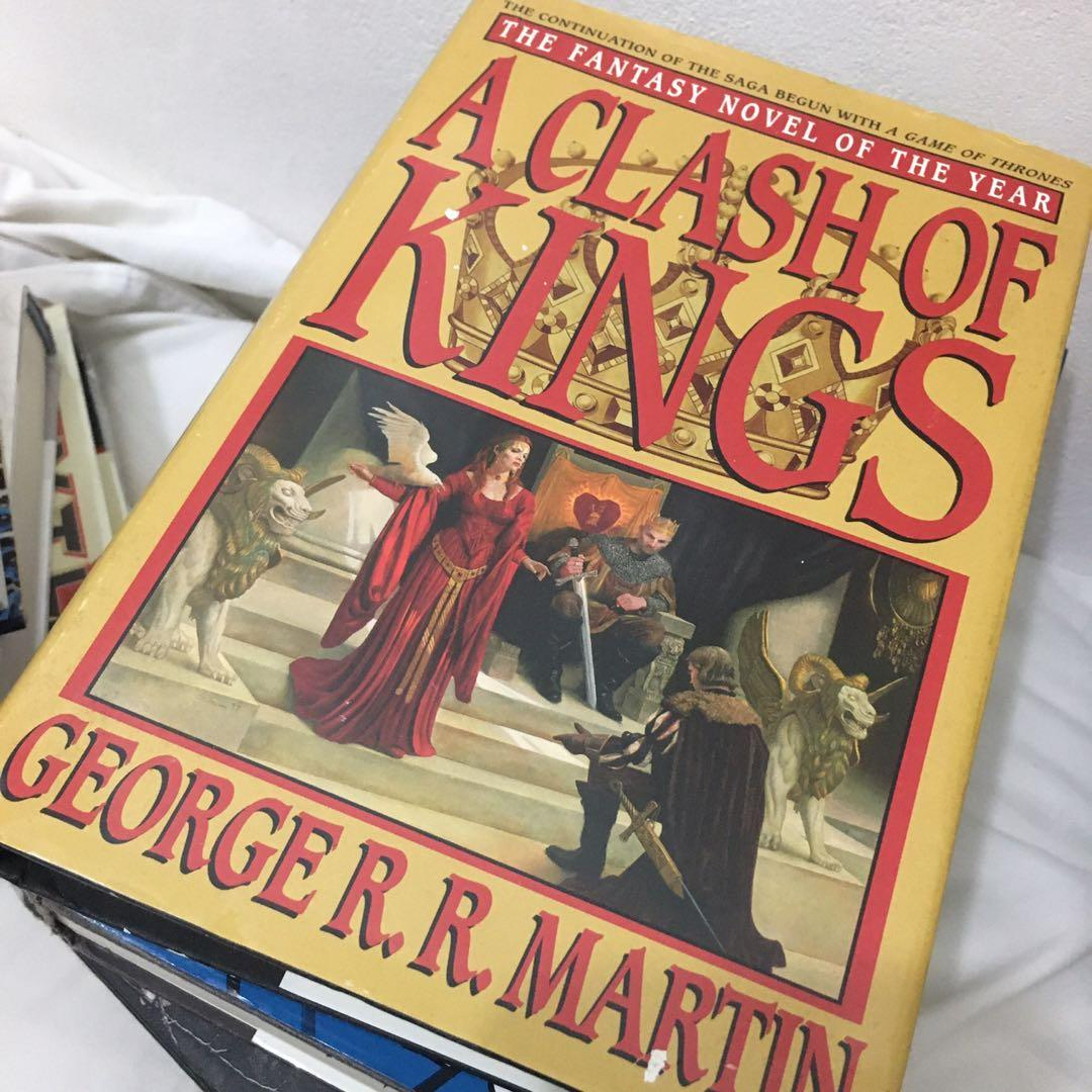 (HB) Song of Ice and Fire: Clash of Kings & Storm of Swords (Game of Thrones)