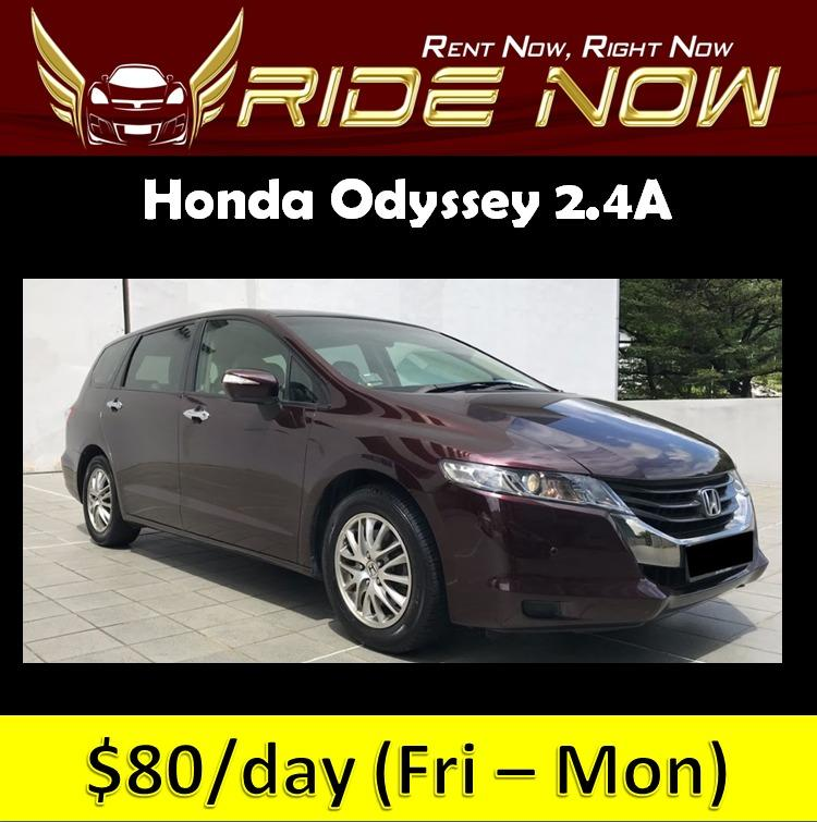 Honda Odyssey 2.4A - 7 Seater Cheap and Affordable P Plate Friendly Car Rental