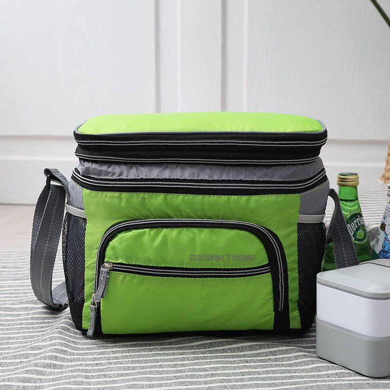 Leakproof  Cooler Bag Ice Bag Lunch Bag  12-CAN Expandable Top Soft-Sided Cooler