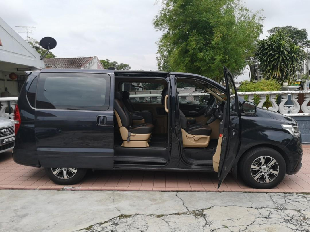 New Hyundai Starex For Rental, tour and self drive SG and JB