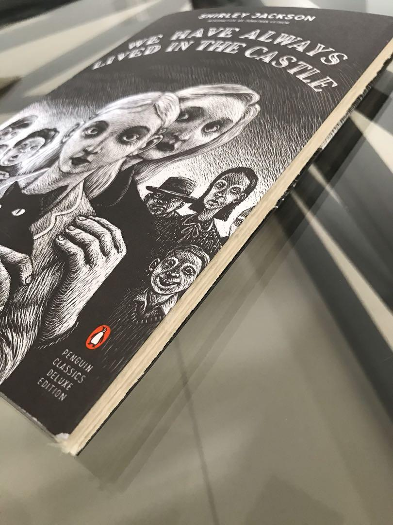 New Penguin Classics Deluxe Edition We Have Always Lived in the Castle SHIRLEY JACKSON