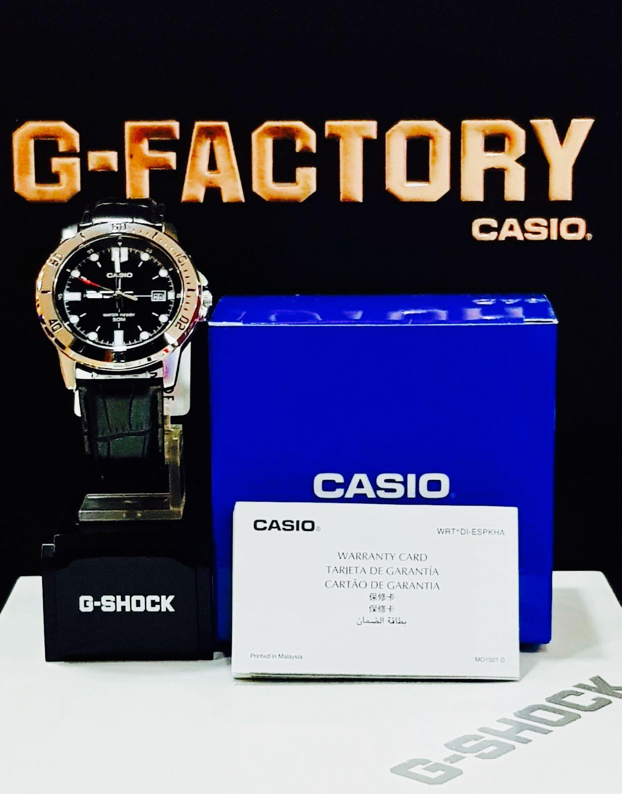 NEW🌟TOUGH CASIO UNISEX DIVER SPORTS WATCH : 100% ORIGINAL AUTHENTIC: By BABY-G-SHOCK ( GSHOCK EDIFICE ) Company : MTP-VD01GL-1EV / MTD SERIES