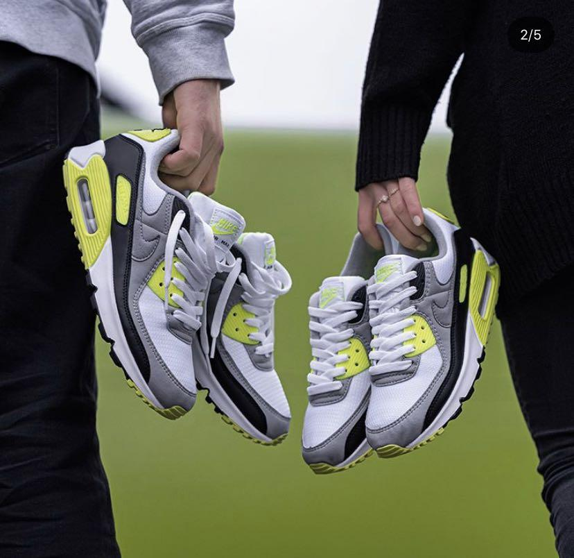 Nike Air Max 90 Volt, Men's Fashion, Footwear, Sneakers on Carousell
