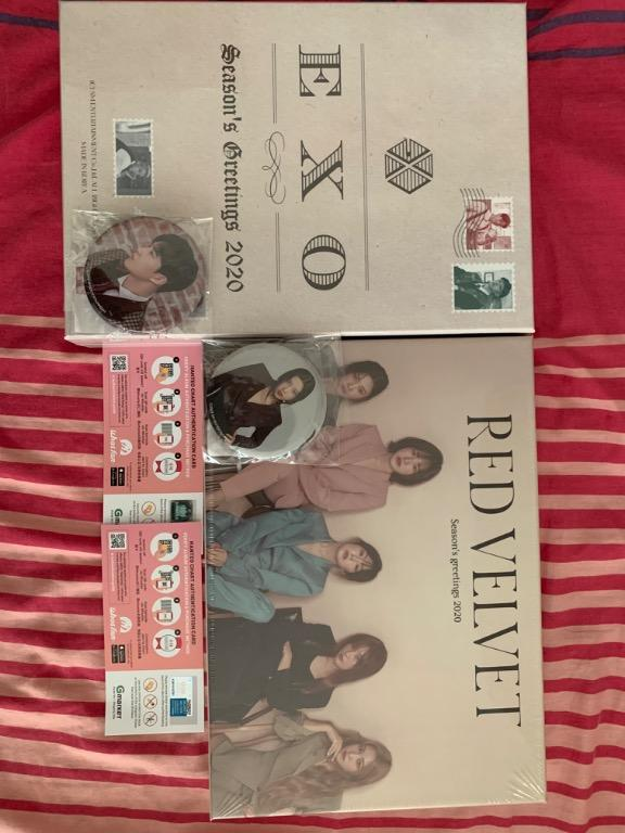 [ONHAND] SEALED Exo and Red Velvet Season greetings 2020 (WITH PRE-ORDER BENEFIT\