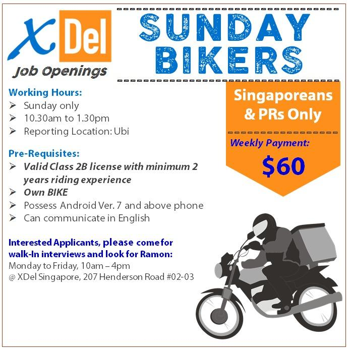Part-Time Bikers (Sunday Only)