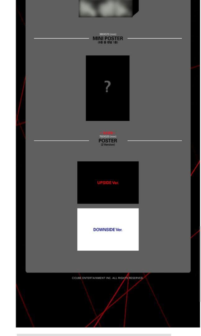 PENTAGON 1ST FULL ALBUM - UNIVERSE : THE BLACK HALL PRE ORDER