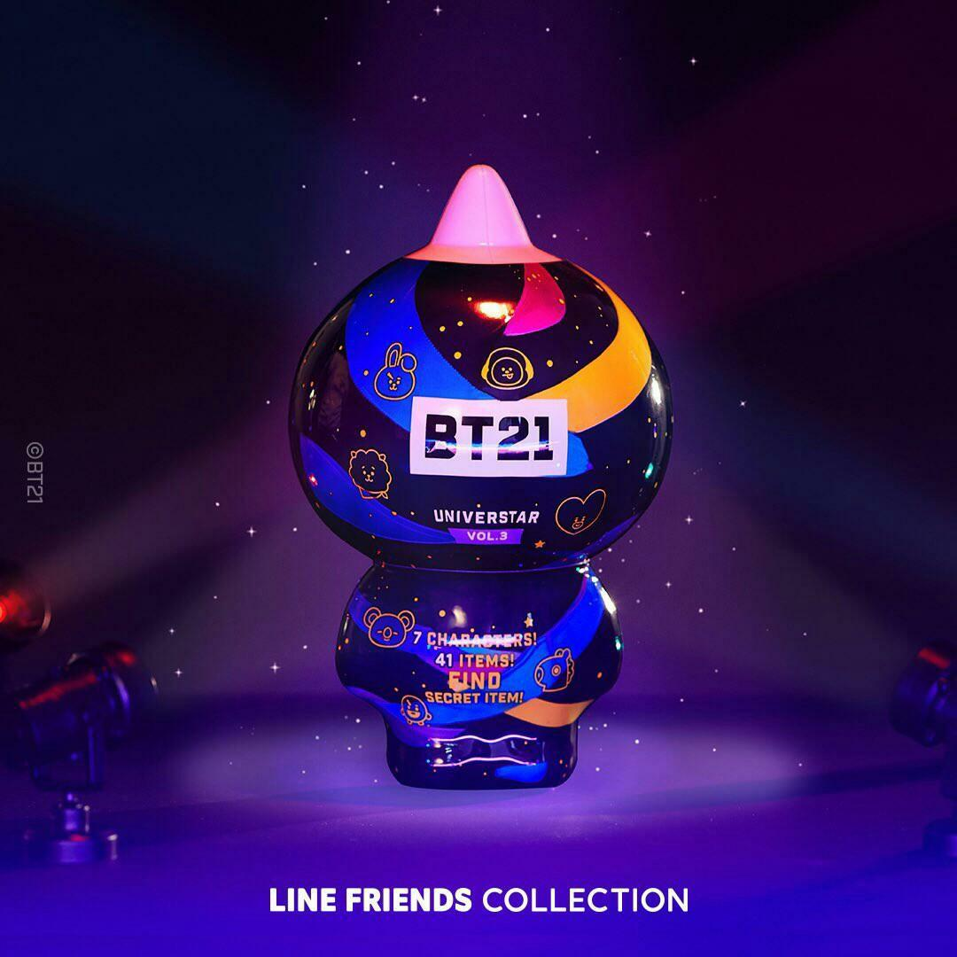(PO) Official BTS BT21 Collectible Figure Blind Pack vol.3 (Concert Theme)