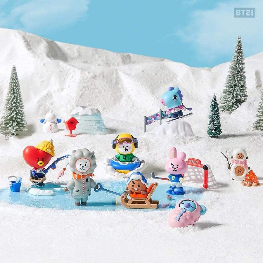 (PO) Official BTS BT21 Collectible Figure Blind Pack Vol.4 (Winter Theme)