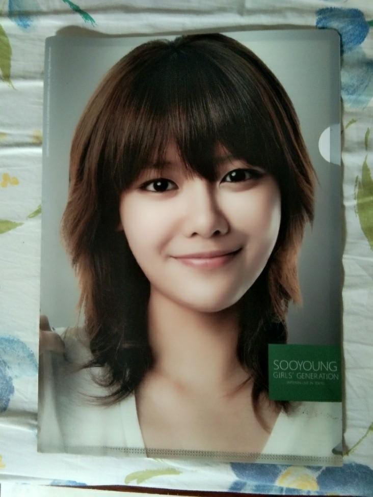 [RARE/LANGKA] L-Holder Clear File Sooyoung SNSD (GIRLS GENERATION) SMTOWN Edition