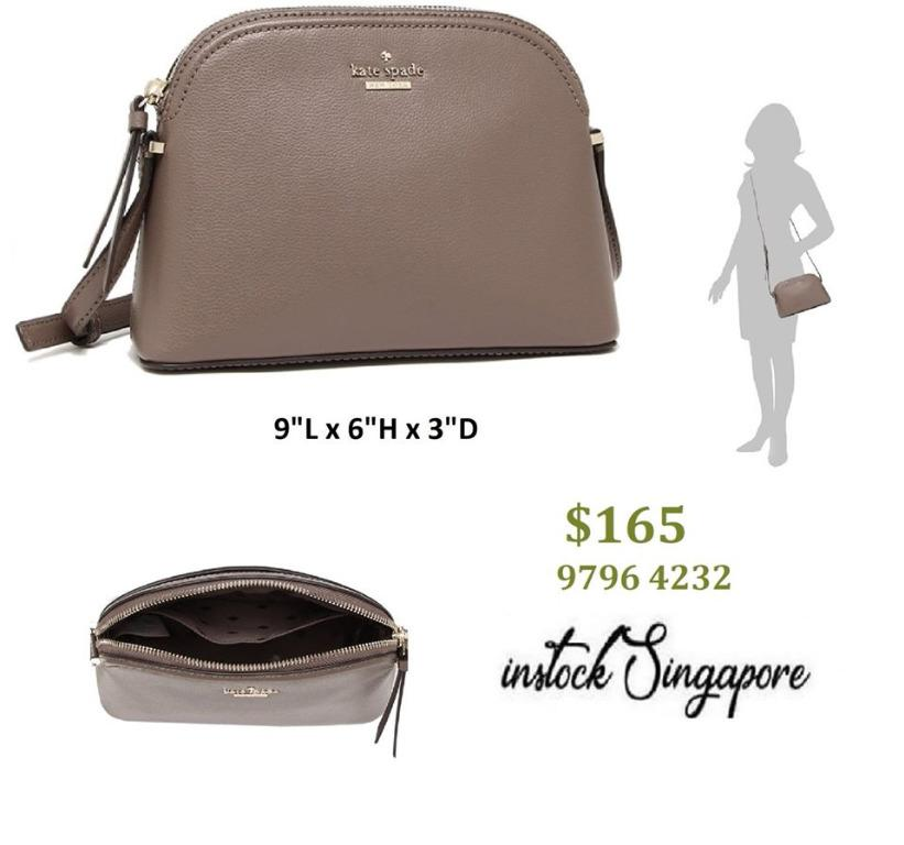 READY STOCK - AUTHENTIC - NEW Kate Spade (WKRU5662) Patterson Drive Peggy Small Crossbody Handbag
