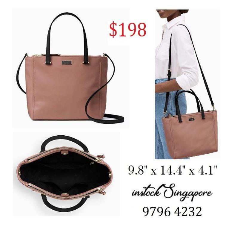 READY STOCK authentic new KATE SPADE NEW YORK Kate Spade Medium Satchel Dawn Handbag WKRU5918 crossbody