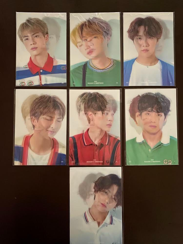 [Stock Arrival] BTS 2020 Season's Greetings Lenticular