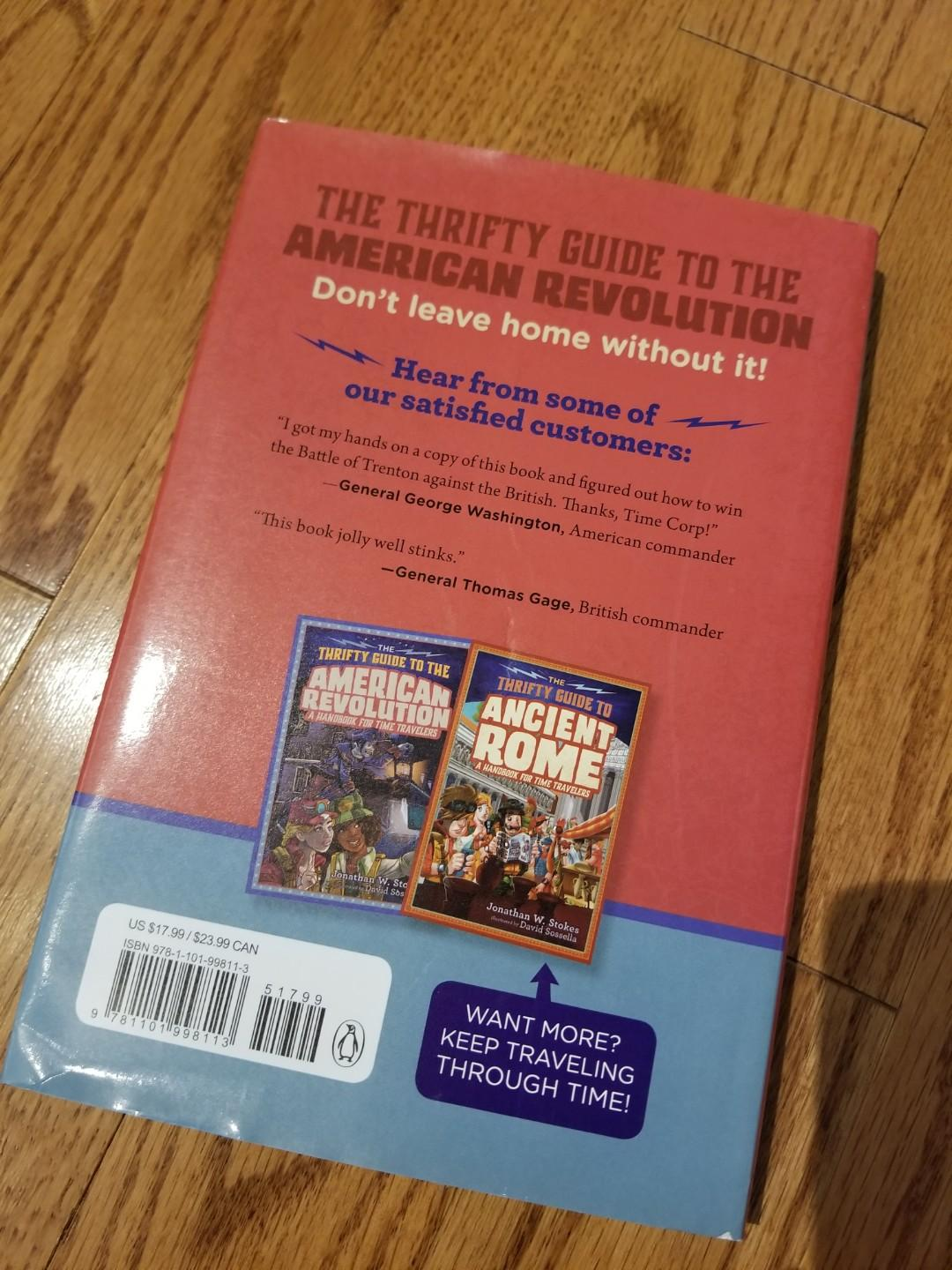 The Thrifty Guide to the American Revolution (hardcover)