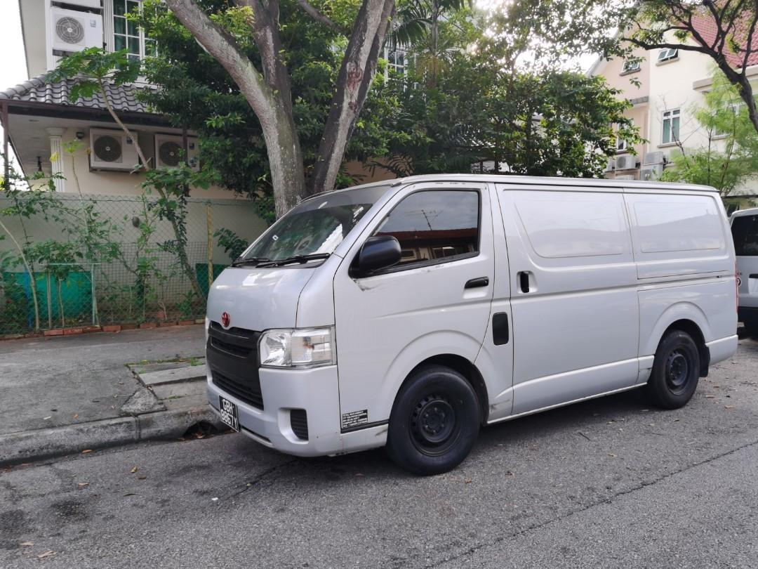 Toyota Hiace Van for rental