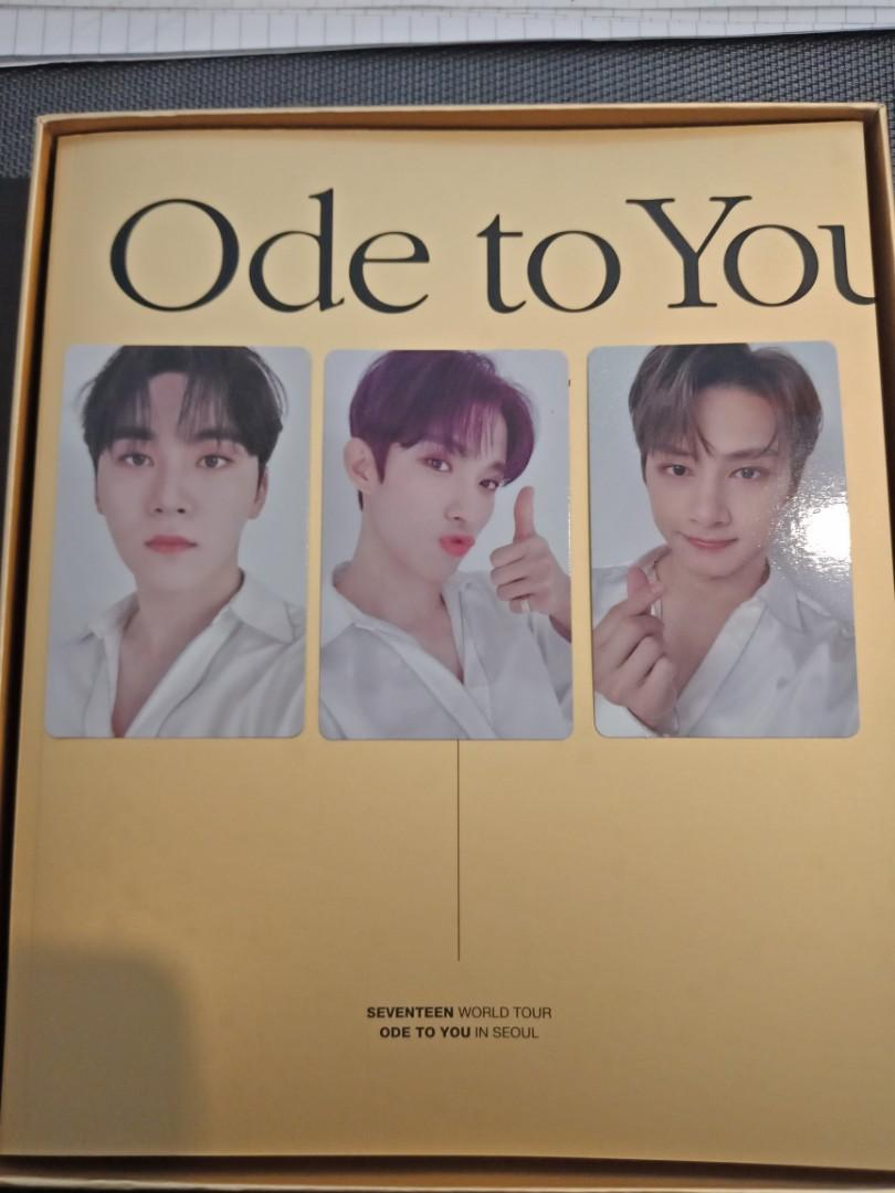 [WTS] Seventeen An Ode to you DVD photocard and photobook