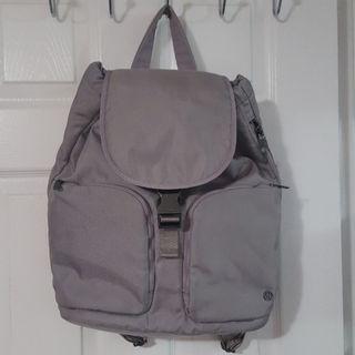 Lululemon Gray Carry Onward Rucksack *12L Dark Chrome Laptop Gym Backpack