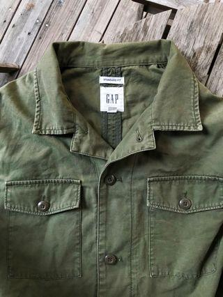 Gap 軍裝襯衫
