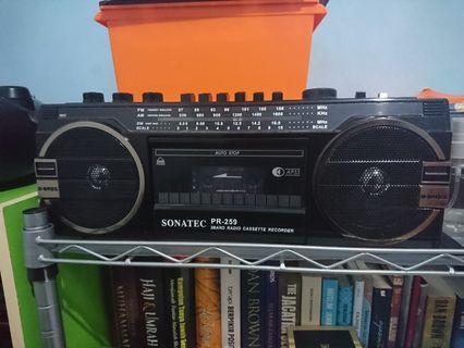 Radio kaset Sonatec pr 259