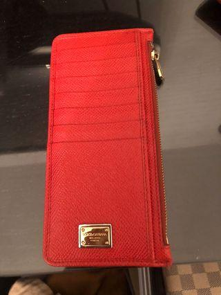 Authentic dolce and gabana card holder