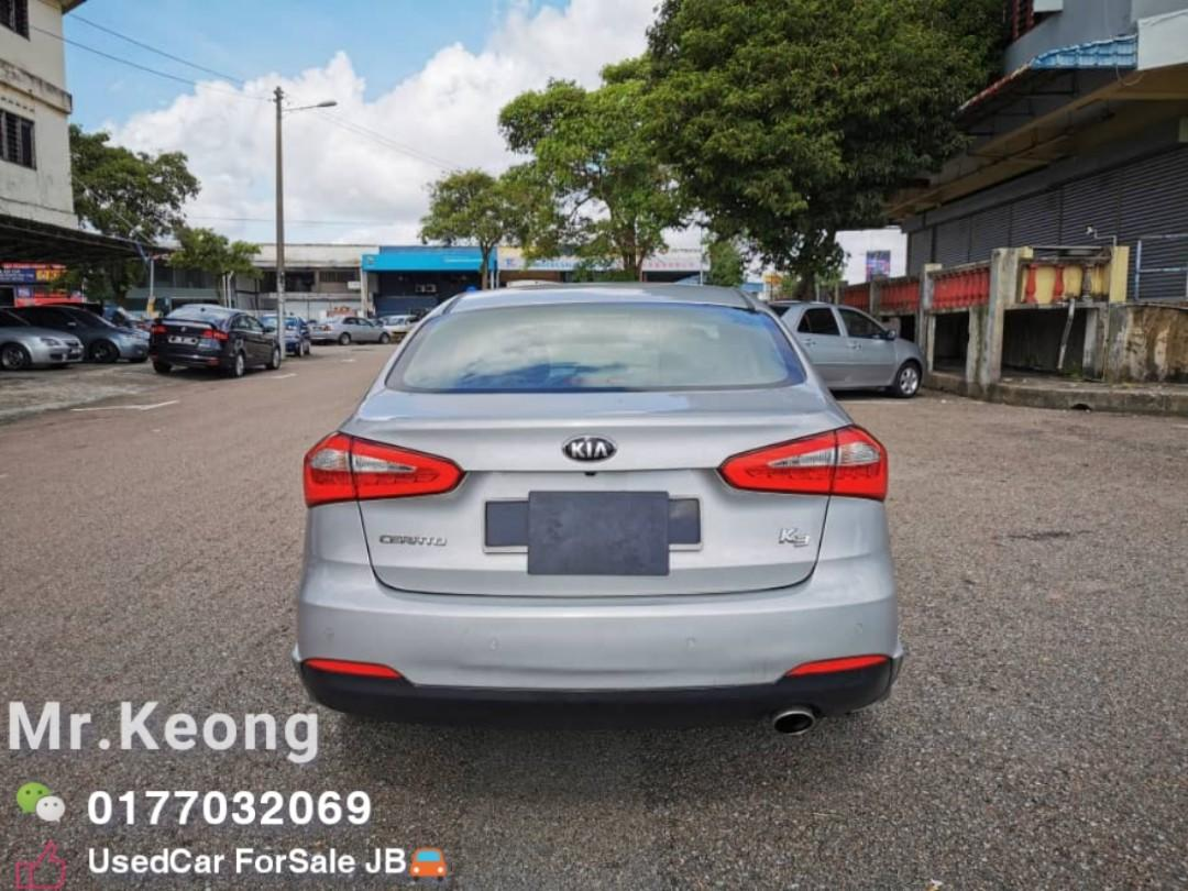 2014TH🚘KIA CERATO K3 1.6AT MILEAGE 8XXXXKM🚨P/START/PADDLE SHIFT🎉Cash OfferPrice💲Rm42,800 Only‼LowestPrice InJB‼Interested Call📲KeongFor More🤗 WHO Fast Deal WHO Get The Car‼