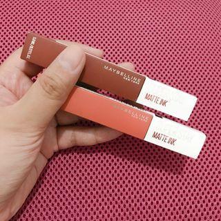 Maybelline Super Stay Matte Ink (Ombre Bundle)