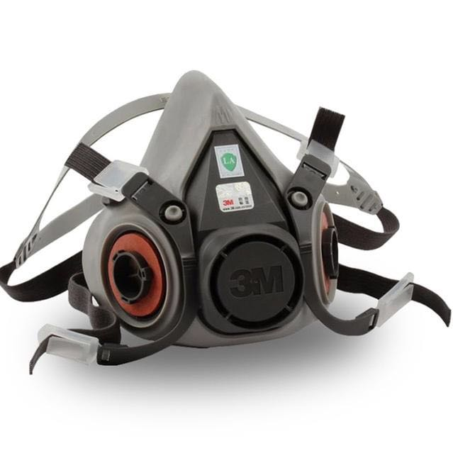 😷📢9in1 3M 6200 Half Facepiece Gas Mask Respirator With 6001/2091 Filter📦