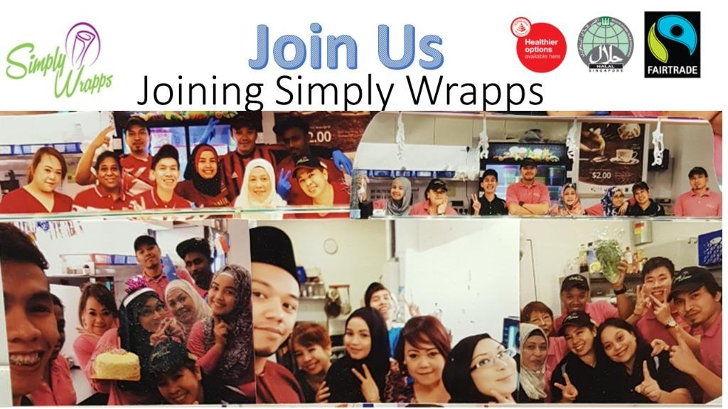 ** Simply Wrapps Service Crew **