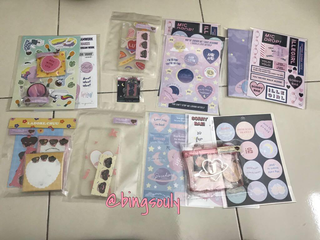 [ #SoulyArrival ] iadorechuu items are safely arrived !