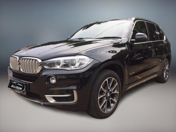 BMW X5 xDrive35i CKD AT 2015 Hitam, Dp 36,9 Jt, No Pol Genap
