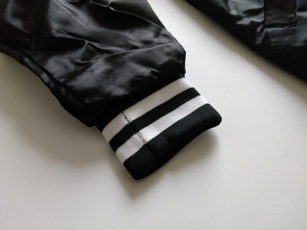 Brand New Barbell Brigade Club Jacket in Black Sz S