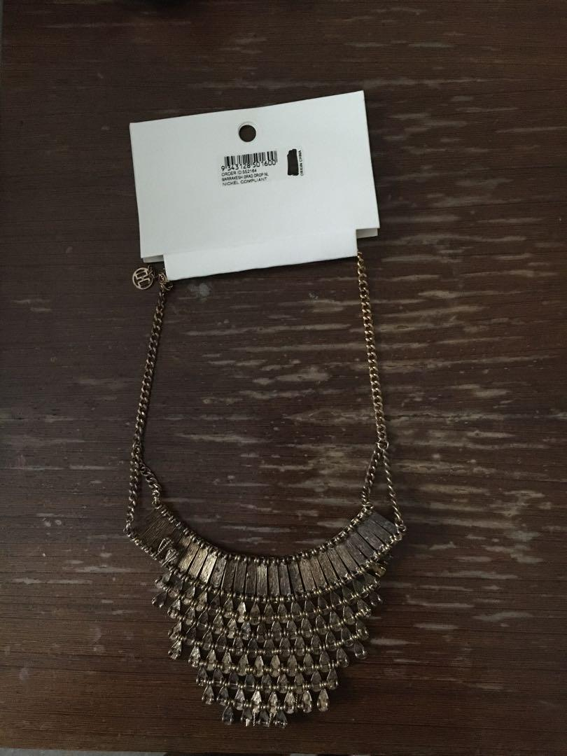 Brand new with tags Colette Marrakech grad drop Necklace