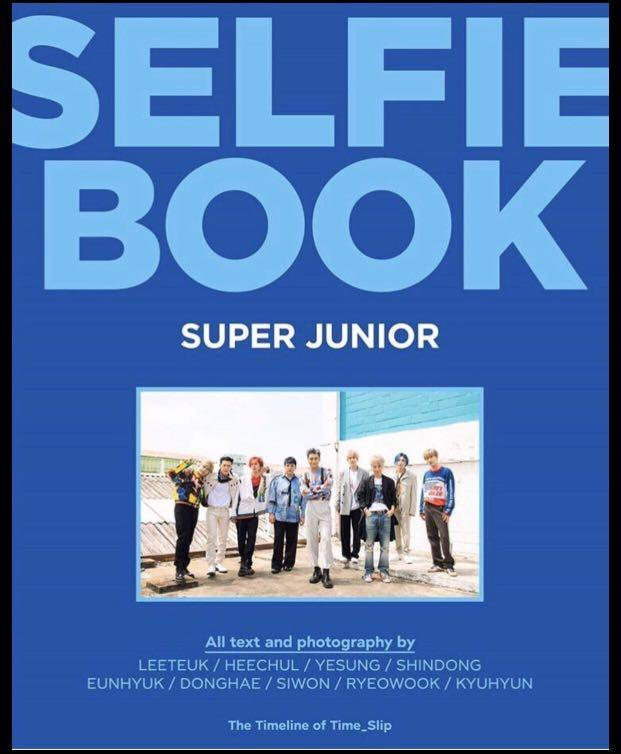 Check out my item! [GROUP ORDER][PRE-ORDER]SUPER JUNIOR SELFIE BOOK - THE TIMELINE OF TIME_SLIP