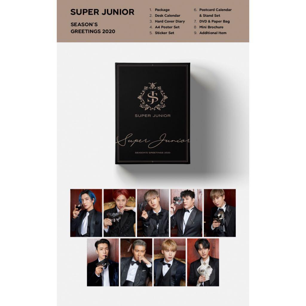 Check out my item! [PRE-ORDER][GROUP ORDER] SM SEASON GREETINGS 2020