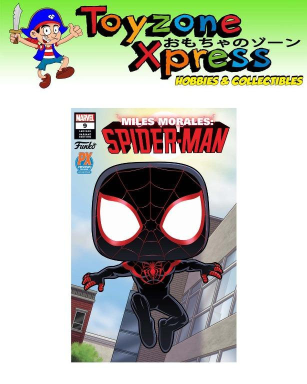 COMICS ONLY - Spider-Verse Casual Miles Morales Variant Comic Comic PX Exclusive