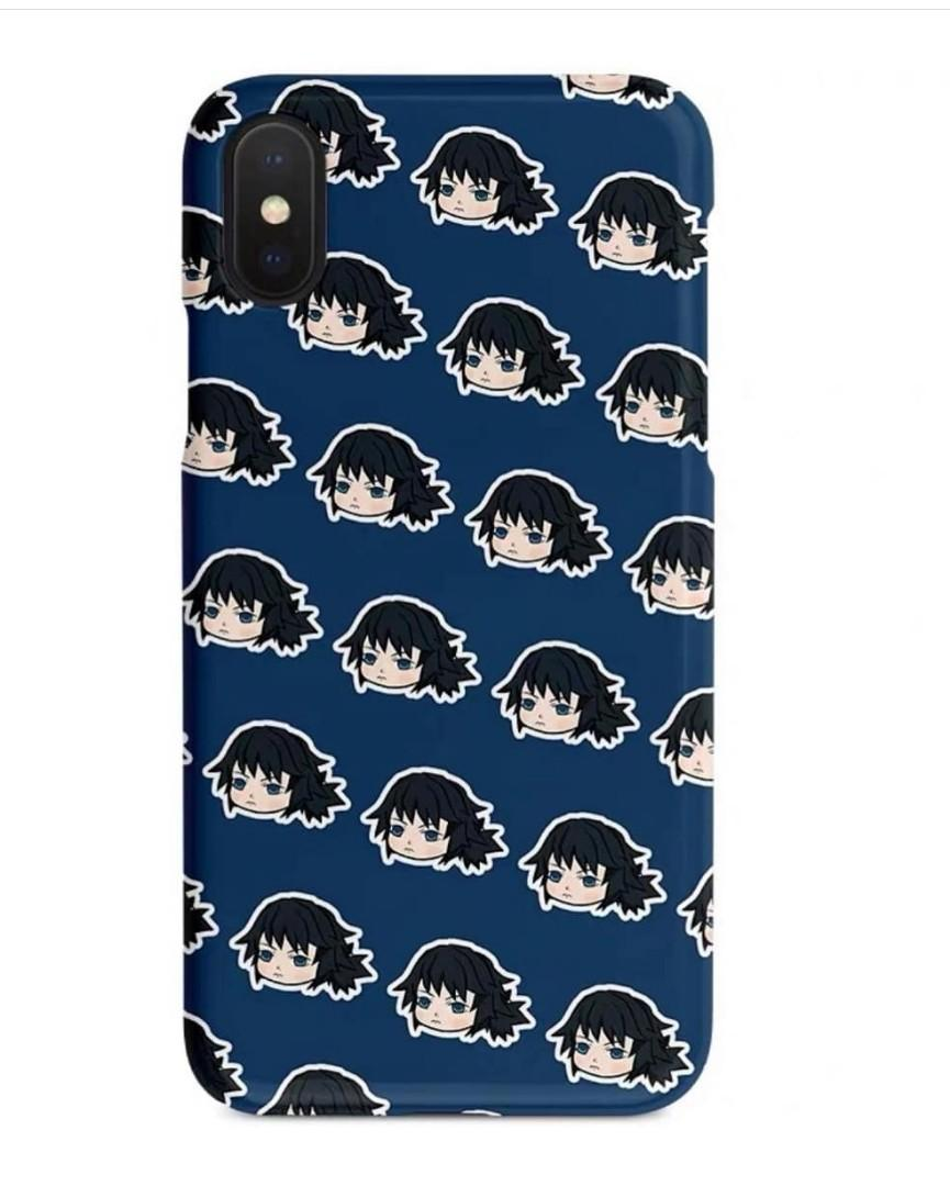 Demon Slayer Phone Hard/Soft/Glass cover (all phone )