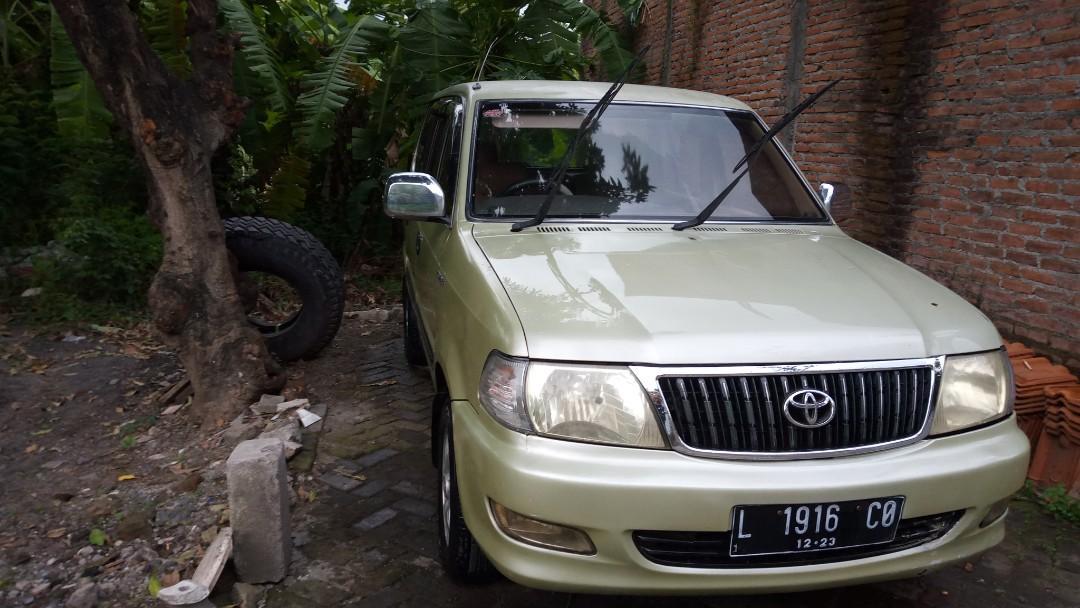 Dijual Santai Toyota Kijang LGX 2003 2.0 Matic Bensin