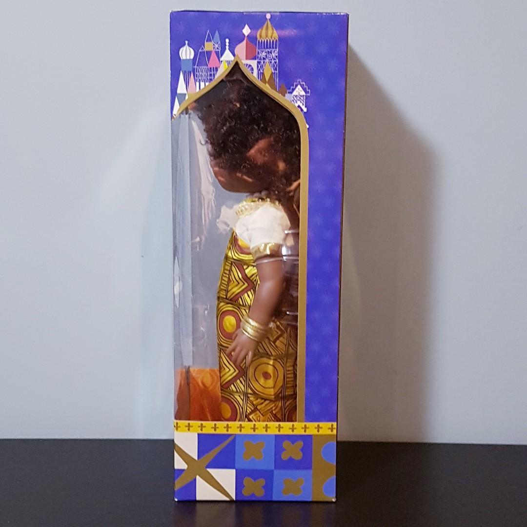 "Disney Animators Collection It's a Small World Singing Doll 16"" Tall - Kenya Version"