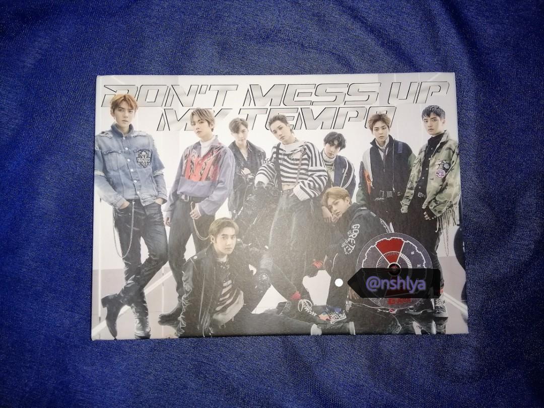 EXO DMUMT VIVACE ver Album / Xiumin DMUMT Photocard