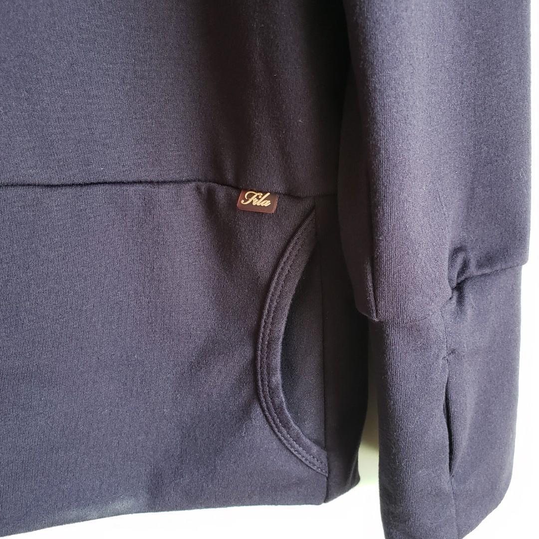 FILA Pullover Style Long Sleeve Jacket Size Medium.
