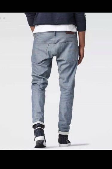 G Star Raw Selvedge Jeans  NEW Classic G-Star 3301 size 34
