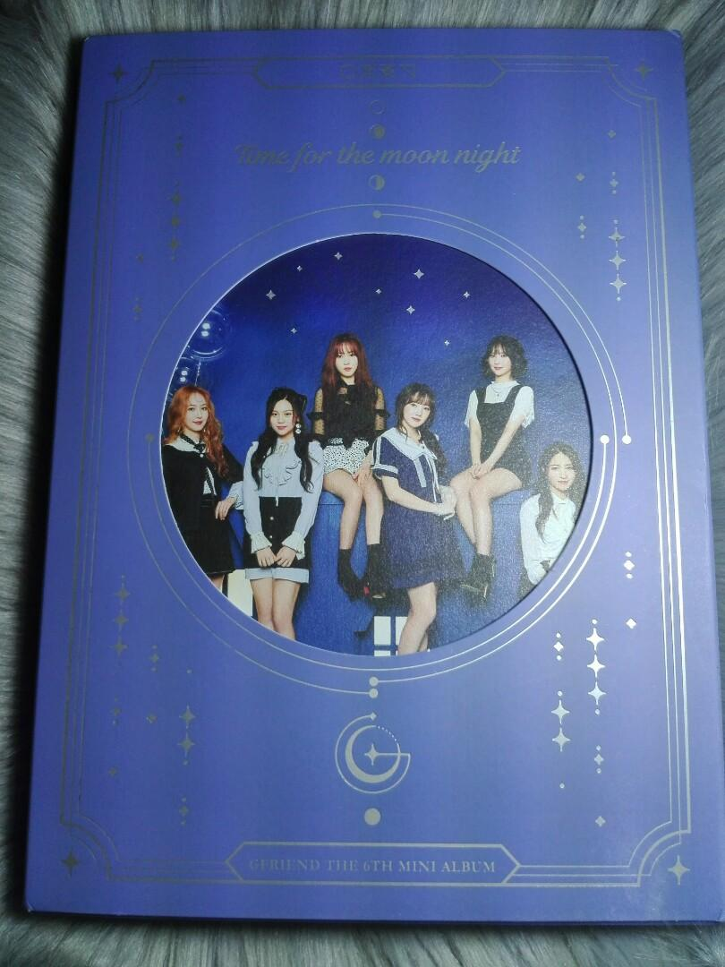 Gfriend Season Of Glass Time For The Moon Night Official Album