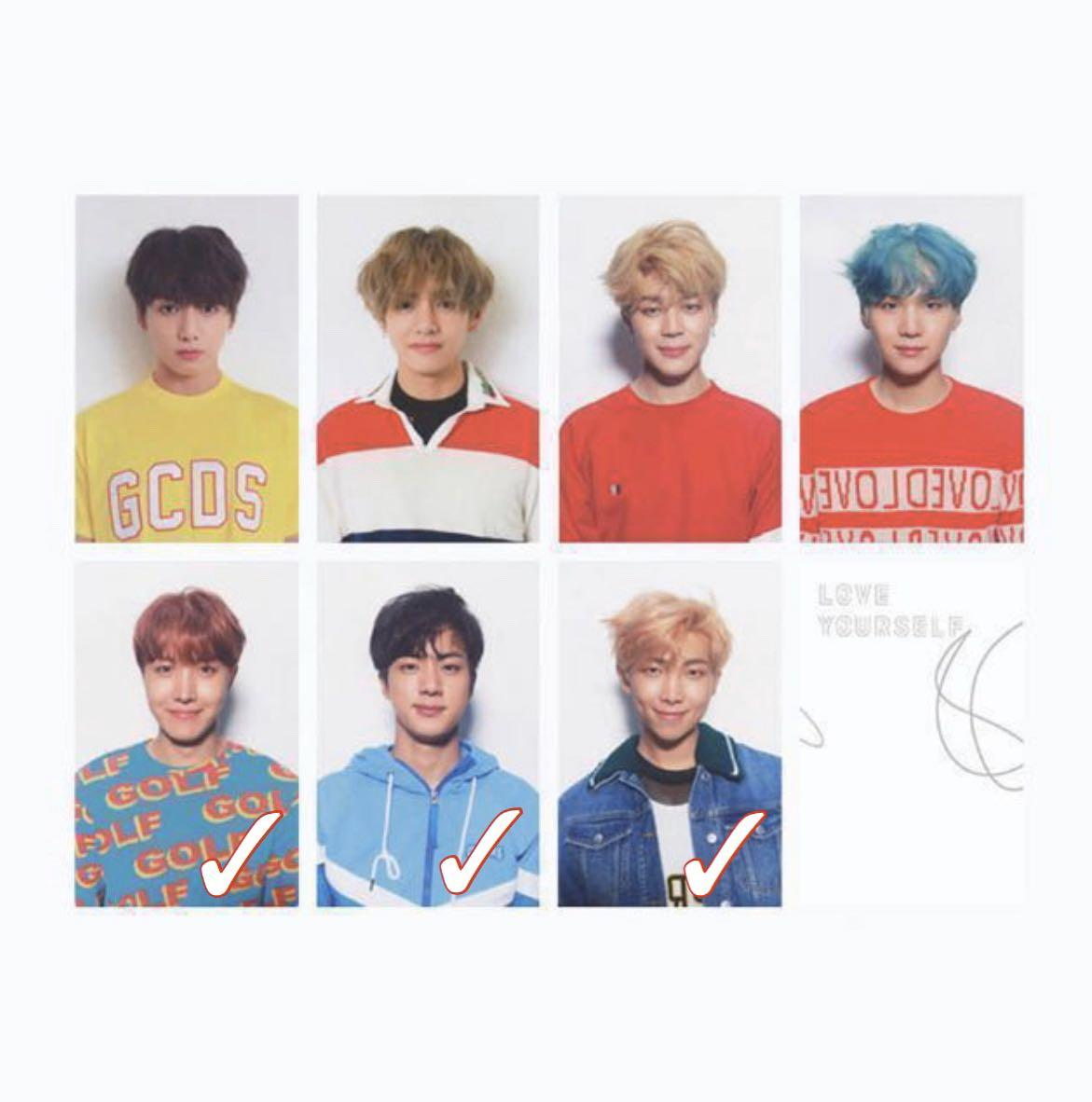 looking for  wtb bts ly her  v version official photocards 1580525088 98d27d85 progressive