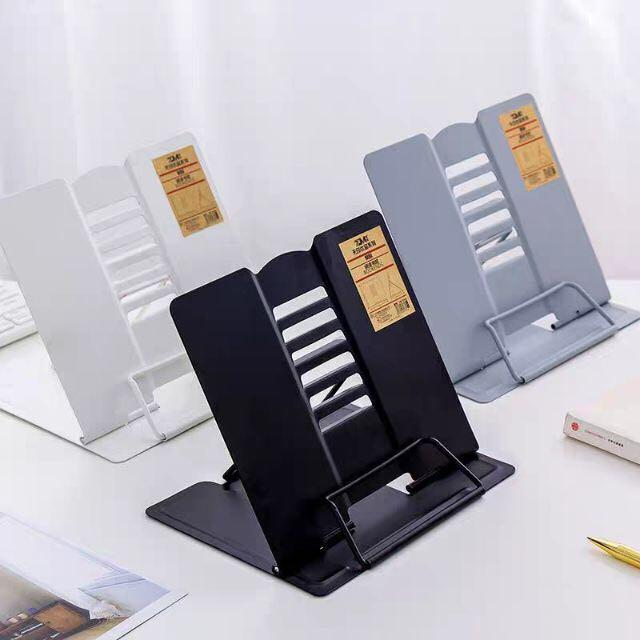 Metal Portable Book Stand Tablet Stand for Law Students/Med/Readers