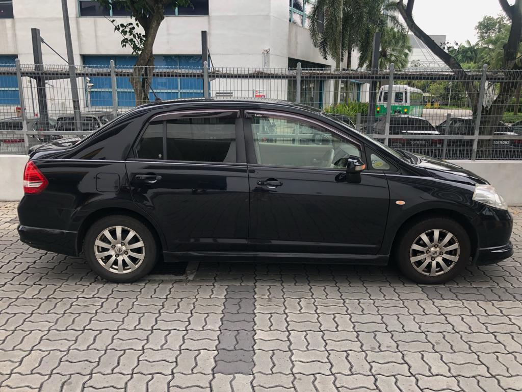 Nissan Latio PROMO RENTAL CHEAPEST RENT FOR Grab/Ryde/PersonalD