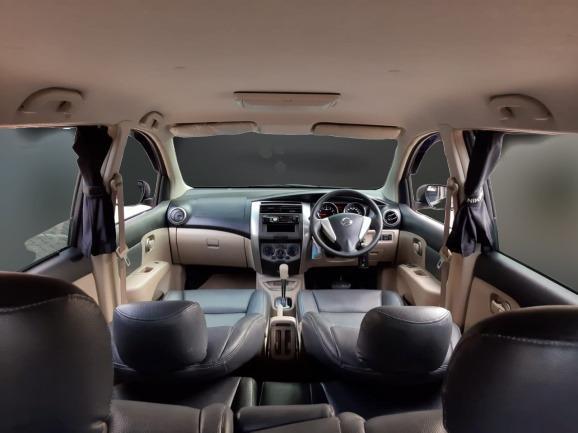 Nissan New Grand Livina 1.5 XV AT 2015 Abu Abu Dp 21,9 Jt No Pol Ganjil