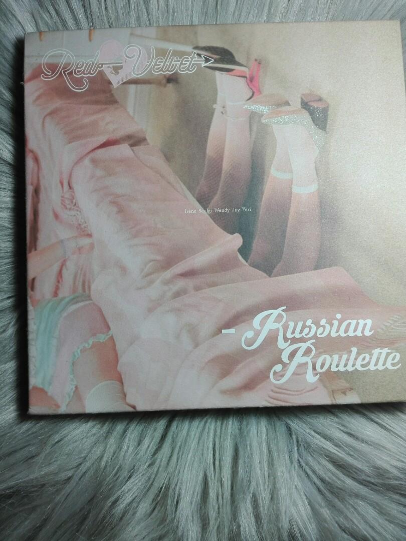 Red Velvet The Velvet The Red Ice Cream Cake Rookie Russian Roulette Official Album