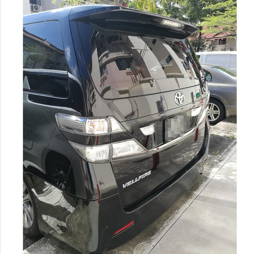 Renting out Vellfire
