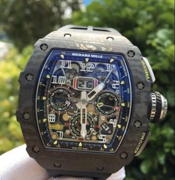 Richard Mille RM 11-03 – Black NTPT discontinued model Unworn Complete Set with Box and Papers