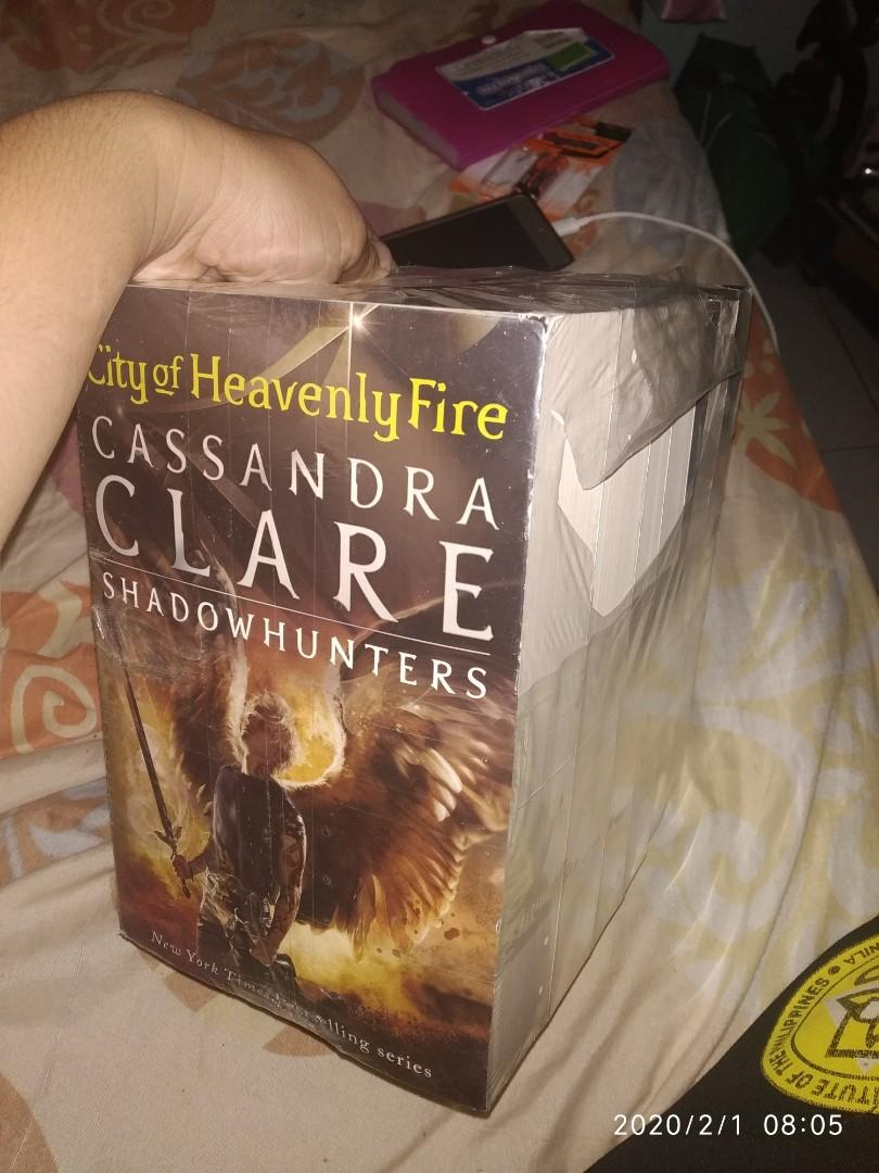 SEALED The Mortal Instruments - Shadowhunters Complete Book 1-6 by Cassandra Clare