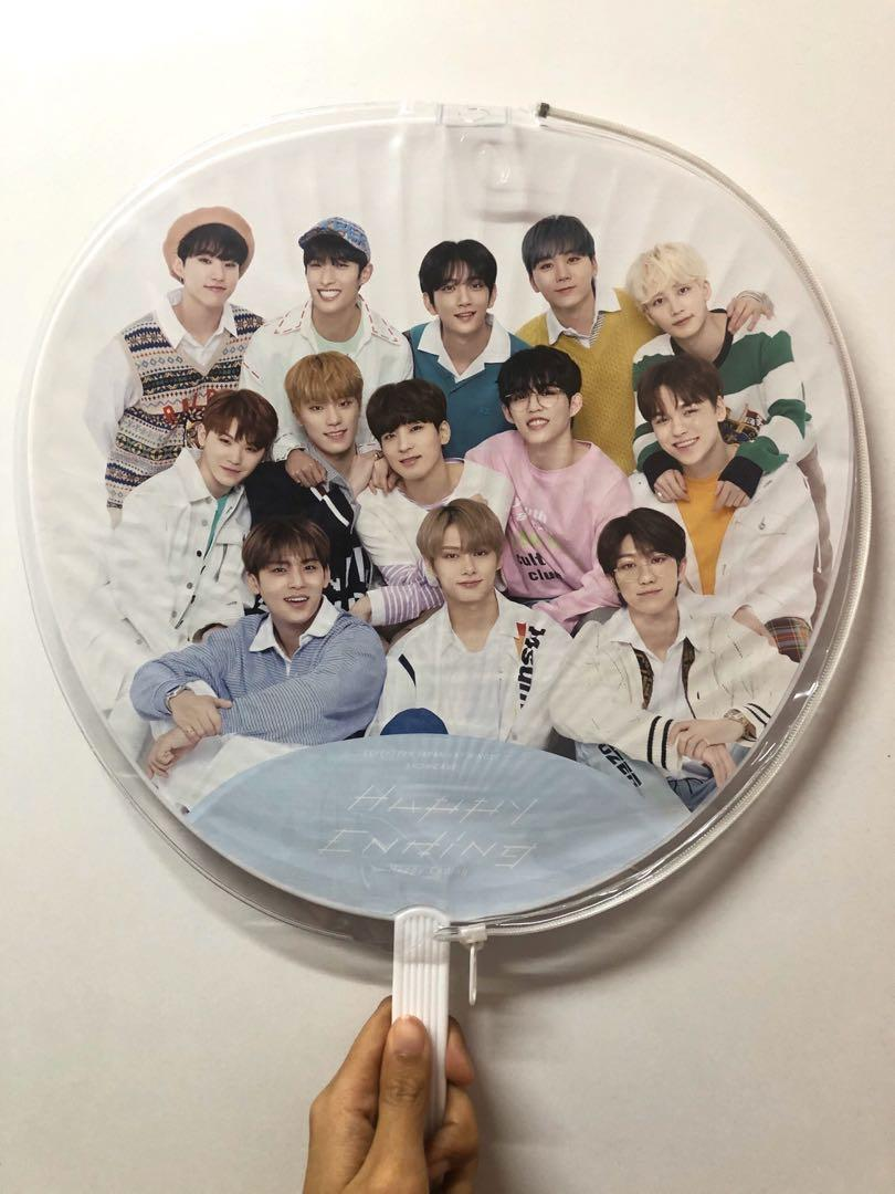 SEVENTEEN - OFFICIAL HAPPY ENDING GROUP UCHIWA/IMAGE PICKET